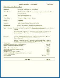 Resume Skills Examples Medical Assistant Example Medical Assistant