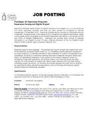 Job Resume Paralegal Cover Letter Sample Paralegal Cover Letter