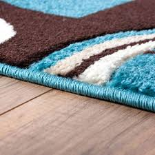 aqua and brown area rugs blue and brown area rugs home interior great teal and white area rug popular mosaic found best idea from teal
