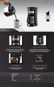 Delonghi ICM15210 Filtre Kahve Makinesi Fiyatı - Taksit Seçenekleri