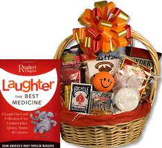 fun get well gift basket
