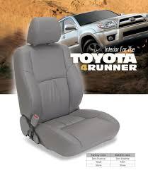 toyota 4runner katzkin leather seat kit