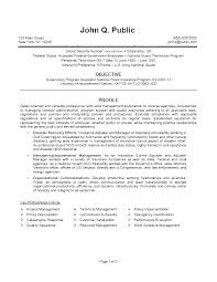 Program Specialist Resume Sample As Well As Resume Specialist Resume