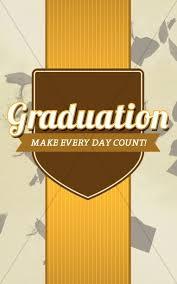 Graduation Cover Photo Graduation Program Cover Template Design Secular Holiday Bulletin
