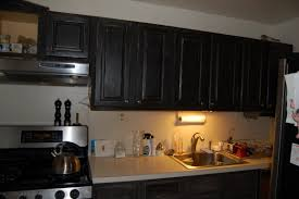 black painted kitchen cabinets ideas. Plain Cabinets Distressed Black Kitchen Cabinets Dark Painted Ideas With