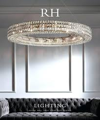 restoration hardware rectangular chandelier lighting odeon