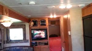 Travel trailers interior Cougar Youtube 2011 Springdale 27 Camper Travel Trailer Inside Video Youtube