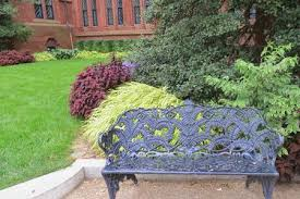 cast iron garden furniture history and