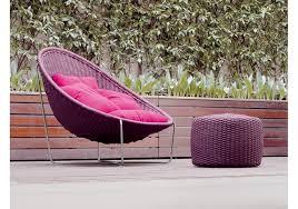 nido paola lenti armchair outdoor