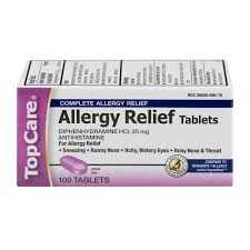 TopCare Allergy Relief Tablets 25mg - 100 CT from Stater Bros ...