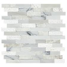 Marble wall tiles Living Room American Olean Genuine Stone Refined White 12in 13in Linear Marble Mosaic Wall Tile common 12in 13in Actual 12in 1313in Walls And Floors American Olean Genuine Stone Refined White 12in 13in Linear