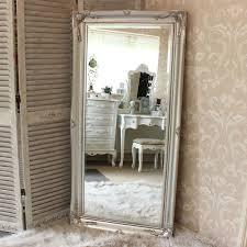 silver floor mirror. Delighful Mirror Large Ornate Silver WallFloor Mirror 158cm X 78cm With Floor