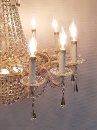 vintage 14 light empire style crystal candelabra chandelier made in spain heirloom empire candelabra