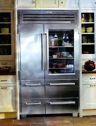 sub zero french door refrigerator kitchen beautiful glass door refrigerator design idea feat smart wall storage