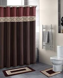solid rust colored shower curtain rust shower curtain liner smlf