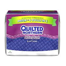 Quilted Northern Ultra Plush Toilet Paper, 18 Mega Rolls - Walmart.com & Quilted Northern Ultra Plush Toilet Paper, 18 Mega Rolls Adamdwight.com
