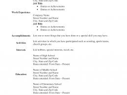 Download Blank Resume Form | Ajrhinestonejewelry.com