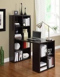 Office work desks Stock Image Is Loading Espressohobbydeskcraftcabinetstoragecubbiesoffice Ebay Espresso Hobby Desk Craft Cabinet Storage Cubbies Office Work