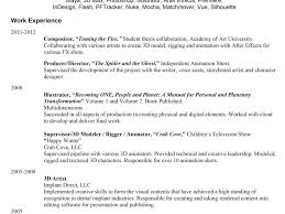 Download Vfx Resume Samples Haadyaooverbayresort Com