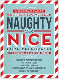... Funny Christmas Party Invitations Naughty Comes Nice Flat Holiday  Parties Invitation Cards Printable Celebrate Girls Ladies