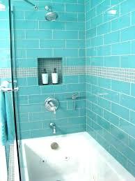 aqua glass shower stall trendy showers s