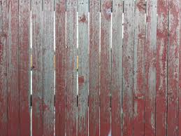 wood fence texture. Weathered Red Painted Wood Fence Texture