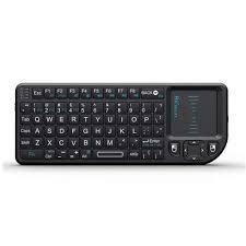 <b>Rii Mini X1</b> Wireless Keyboard with Mouse Touchpad Remote Control