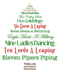 Christmas Tree Festival – The Twelve Days of Christmas ...
