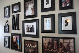 I resisted creating a photo wall for a long time, however, because I was  intimidated. The picture part was pretty easy, but what about the frames?