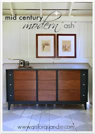 painted mid century furnitureMid Century Modern Furniture Makeovers Done Right  Lost  Found