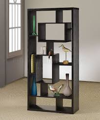 modern furniture shelves. Black Finish Modern Bookcase W/Shelves \u0026 Display Space Furniture Shelves D