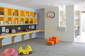 decoration: Mini Designed Sofa Colored In Cool Orange Installed Boys  Playroom Ideas Combined With Amazing