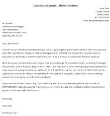 Cover Letter Examples For Medical Assistant Medical Assistant Cover Letter Example Icover Org Uk