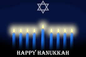 grissom wishes everyone a happy hanukkah