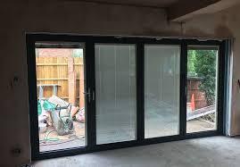 integral blinds fitted in bi folding