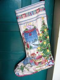 Cross Stitch Stocking Patterns Mesmerizing Christmas Crossstitch Flourhand
