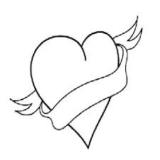 Heart Coloring Pictures 488websitedesigncom