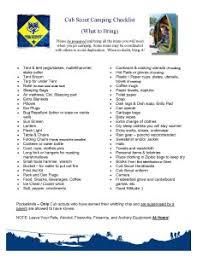 Cub Scout Camping 101 | buffalotrailbsa.org