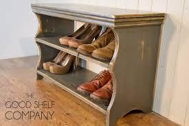 shoe storage cabinet rack bench stool vine grey amazon co uk kitchen home