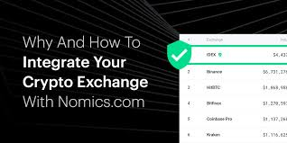Why And How To Integrate Your Crypto Exchange With Nomics.com ...