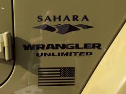 jeep wrangler sahara logo. product jeep mountain usa flag sahara wrangler unlimited cj tj yk logo