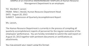 employee accomplishment report sample smart hrd journey an overview of interoffice memorandum