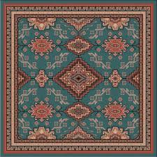 rhinestone river rug 8 ft square