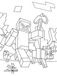 Coloring Pages Minecraft Coloring Sheets Steve Pages Diamond Armor