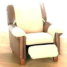 slip yellow leather loveseat recliner