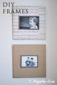 easy decoupaged personalized wall decor