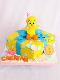 Tweety Bird Cake Designs The Sensational Cakes Tweety Bird Theme 3d Sugarcraft Cake