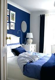 white bedroom with blue accents – aimcam.co