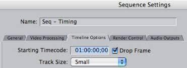 drop frame vs non drop frame timecode