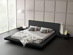 black modern platform bed. Fujian Modern Platform Bed (Ash Black) Black Furniture By Matisse